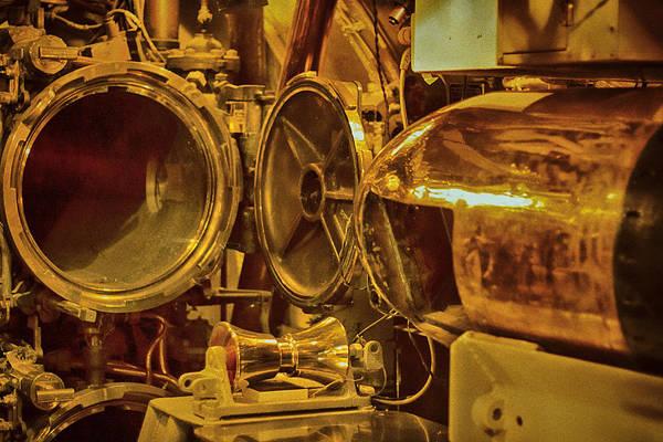 Uss Bowfin Photograph - Torpedo Chamber Uss Bowfin by Douglas Barnard