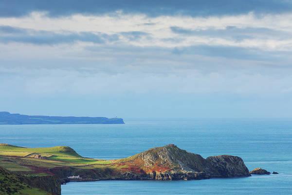Headlands Photograph - Torr Head In Northern Ireland by Mammuth