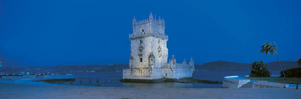 Lisbon Castle Photograph - Torre De Belem Lisbon Portugal by Panoramic Images