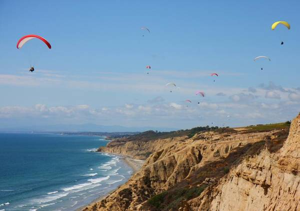 Photograph - Torrey Pines Glider Port by Nathan Rupert