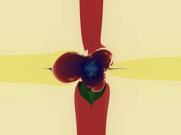 Elation Digital Art - Torsion Fields by Kenneth Keller