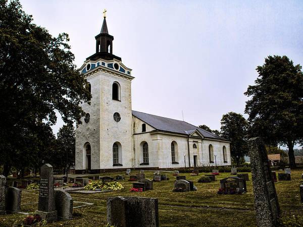 Photograph - Torstuna Kyrka Church by Leif Sohlman