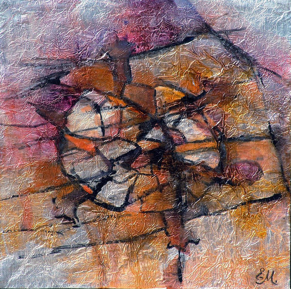 Wall Art - Painting - Tortoise Memorial by Ekaterina Mortensen