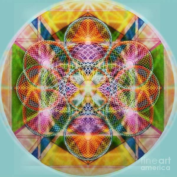Digital Art - Torusphere Synthesis Bright Beginning Soulin I by Christopher Pringer