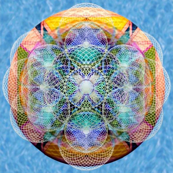 Digital Art - Torusphere Synthesis Cell Firing Soulin IIi by Christopher Pringer