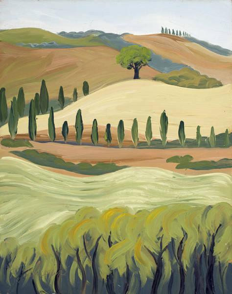 Painting - Toscana by Mary Giacomini