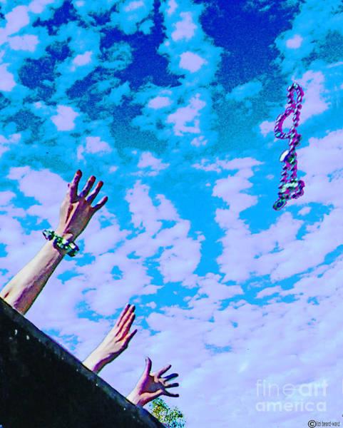 Digital Art - Toss by Lizi Beard-Ward