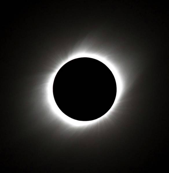 Totality Photograph - Total Solar Eclipse by Babak Tafreshi/science Photo Library