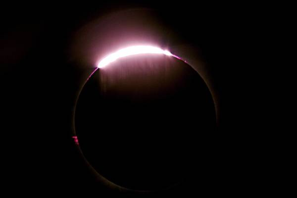 Bailey Photograph - Total Solar Eclipse by Don Sabers/rev. Ronald Royer/science Photo Library