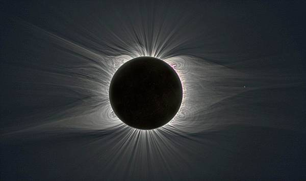 Totality Photograph - Total Solar Eclipse by Rev. Ronald Royer/science Photo Library