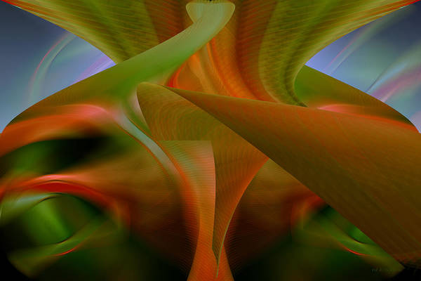 Photograph - Totally Tropical - Abstract Art by rd Erickson