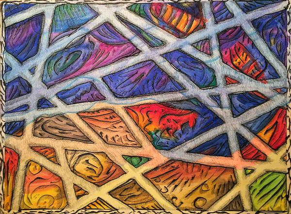 Follow Me Painting - Totally Tubular by J E T I I I