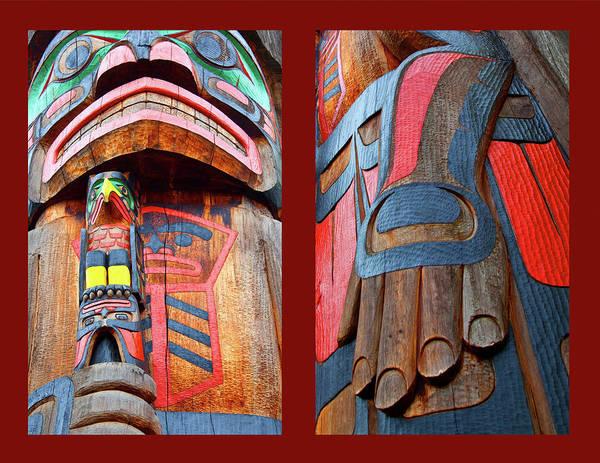 Totem Pole Wall Art - Photograph - Totem 2 by Theresa Tahara