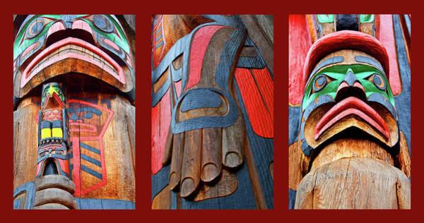 Totem Pole Wall Art - Photograph - Totem 3 by Theresa Tahara