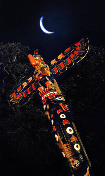 Photograph - Totem Moon by Kim Lessel