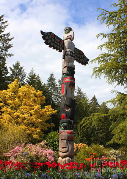 Photograph - Totem Pole  by Carol Groenen
