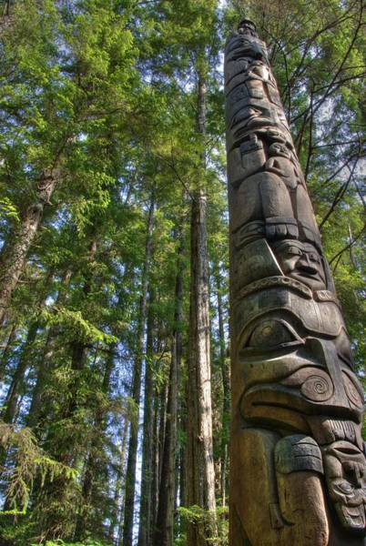 Photograph - Totem Pole by David Andersen