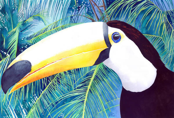 Painting - Toucan by Pauline Walsh Jacobson
