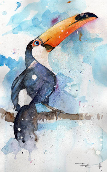 Painting - Toucan Sam by Sean Parnell