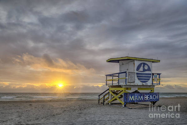 South Beach Wall Art - Photograph - Touch A New Day by Evelina Kremsdorf