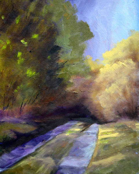 Wall Art - Painting - Touch Of Light by Nancy Merkle