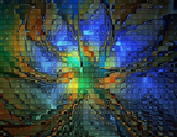Digital Art - Touched By Light by Amanda Moore