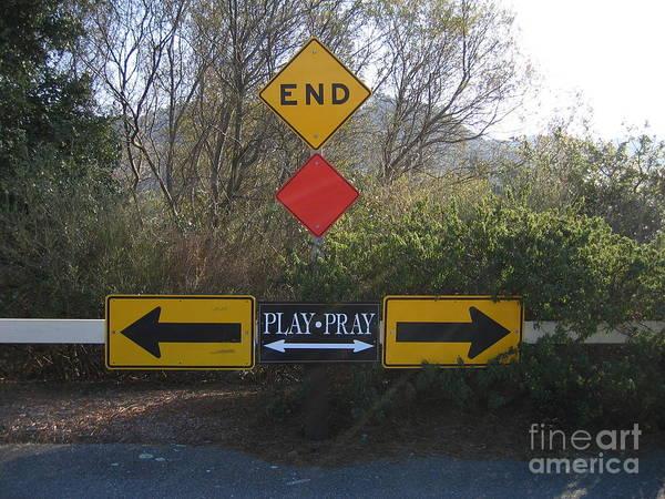 Photograph - Tough Decision by James B Toy