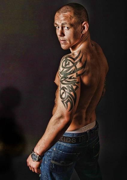 Kickboxing Photograph - Tough Guy by John Lynch