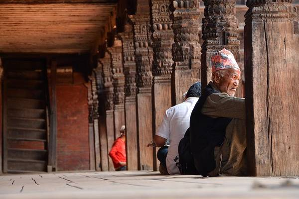 Nepal Wall Art - Photograph - Tough Life by Aaron Bedell