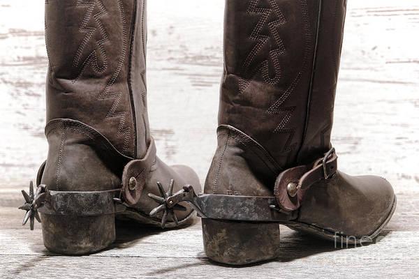 Rodeo Photograph - Tough Spurs by Olivier Le Queinec