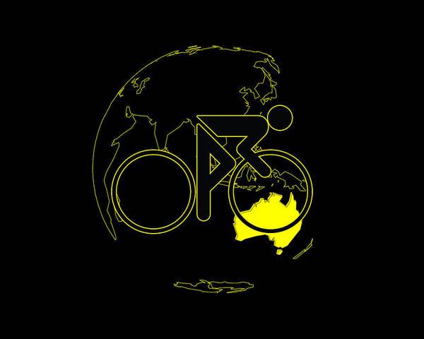 Digital Art - Tour De France 2011 Tribute by Brian Carson