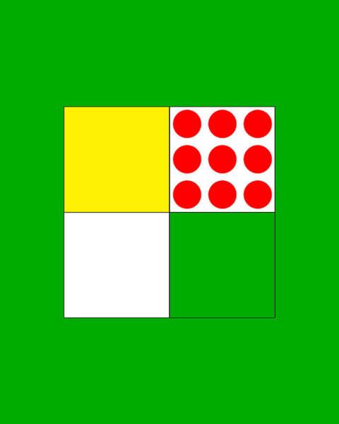 Digital Art - Tour De France Jerseys 1 Green by Brian Carson