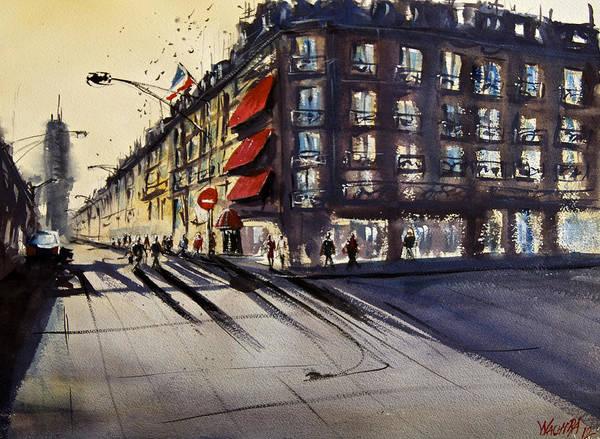Wall Art - Painting - Tour Montparnasse by James Nyika