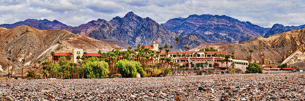 Furnace Creek Photograph - Tourist Resort, Furnace Creek Inn by Panoramic Images