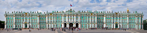 Hermitage Photograph - Tourists In Front Of Winter Palace by Panoramic Images
