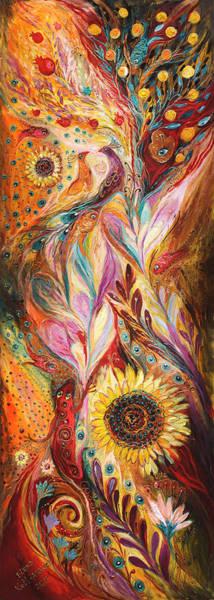 Wall Art - Painting - Towards The Sun by Elena Kotliarker