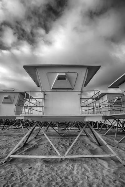 Photograph - Tower - Black And White by Peter Tellone
