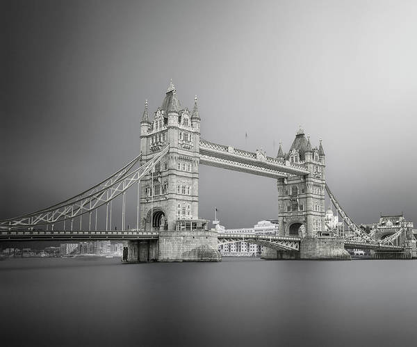 United Kingdom Photograph - Tower Bridge by Ahmed Thabet