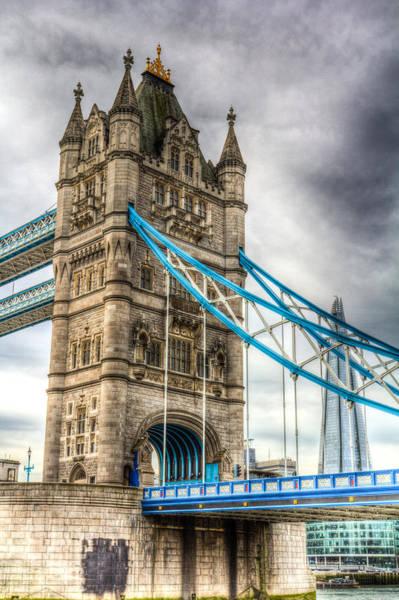Wall Art - Photograph - Tower Bridge And The Shard by David Pyatt