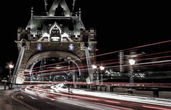 Shutter Speed Photograph - Tower Bridge London by Martin Newman