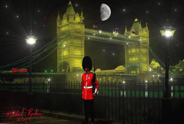 Wall Art - Digital Art - Tower Bridge by Michael Rucker