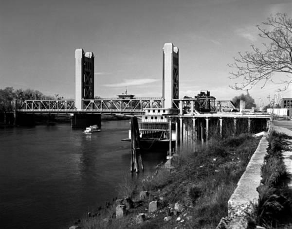 Photograph - Tower Bridge Sacramento by Lee Santa