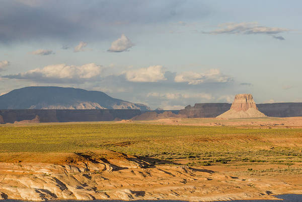 Tower Butte View Art Print