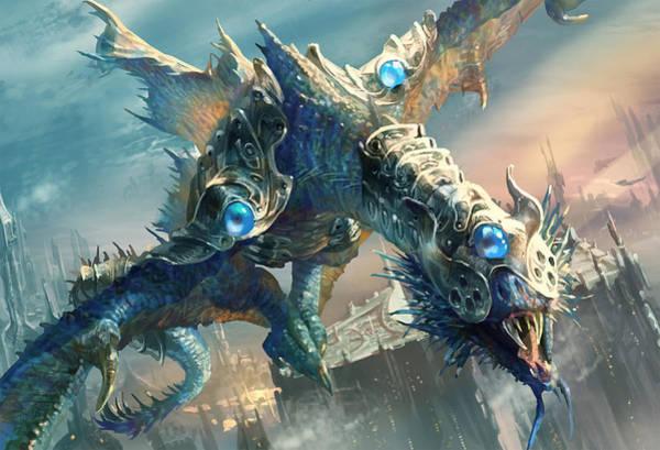 Dragon Digital Art - Tower Drake by Ryan Barger