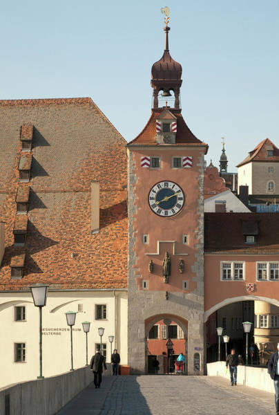 Danube Photograph - Tower Entrance To Old Town by Dave Bartruff