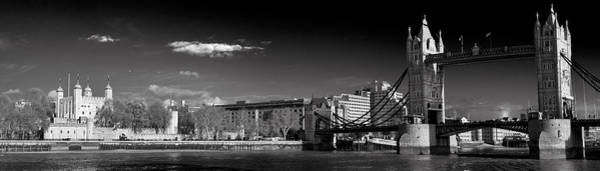 Photograph - Tower Of London And Tower Bridge by Gary Eason