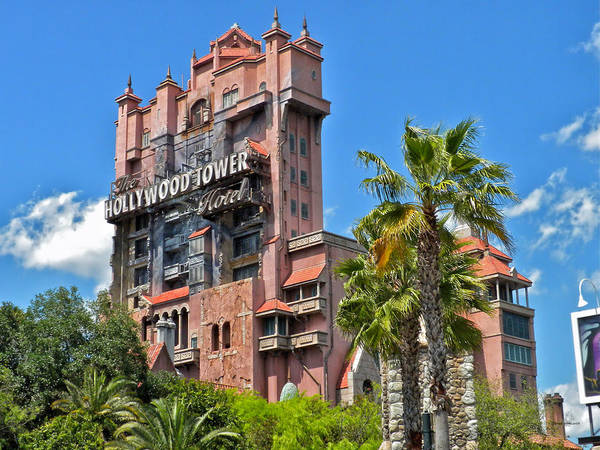Epcot Center Wall Art - Photograph - Tower Of Terror by Thomas Woolworth