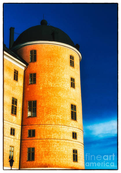 Photograph - Tower Of Uppsala Castle - Sweden by David Hill