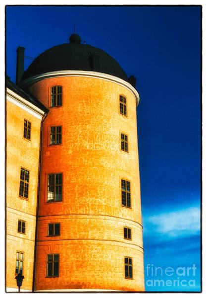 Tower Of Uppsala Castle - Sweden Art Print