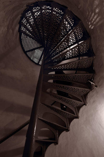 Stairs Wall Art - Photograph - Tower Stairs by Steve Gadomski